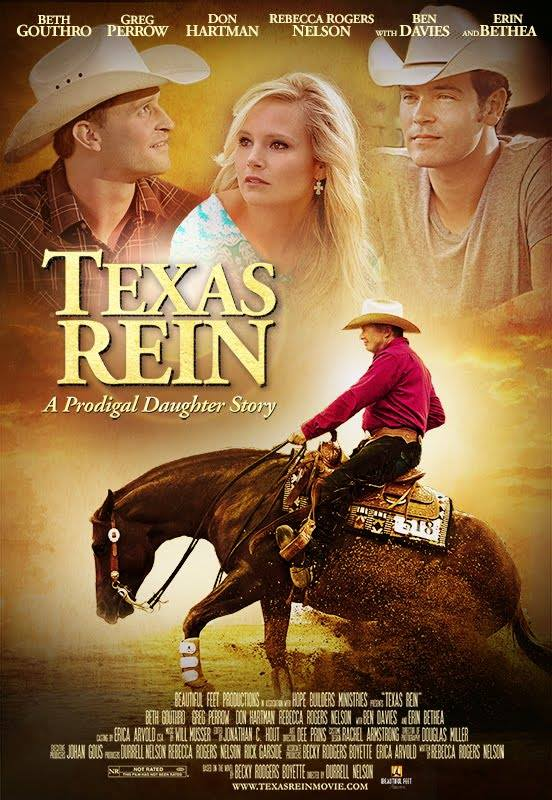 """cover del film """"Texas Rein"""" 